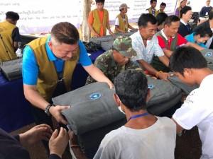 回收寶特瓶製成環保毛毯 慈濟賑災毛毯溫暖30多國50萬災民