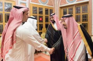 華郵記者命案 沙烏地國王、王儲接見家屬致哀