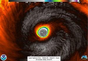 玉兔瞬間風速破270km/h! 美專家示警:下週衝擊台灣