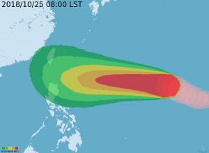 與山竹並列今年最強颱 氣象局:玉兔對台影響關鍵在下週二