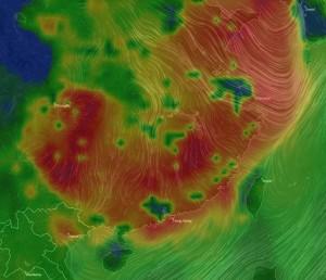 中國移入空汙將至! 入秋首波霾害明報到