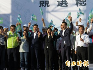 鄭朝方總部成立 小英站台宣示:「大新竹共好」啟航