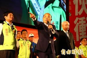 3市長站台挺蘇貞昌 林智堅以炒米粉妙喻:新北「要翻啦」