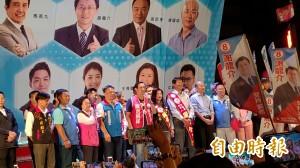 龍介仙總部成立  韓國瑜人氣蓋過小馬哥