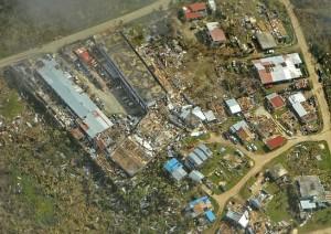 玉兔颱風強襲北馬里亞納群島 美海軍公布災後照片...
