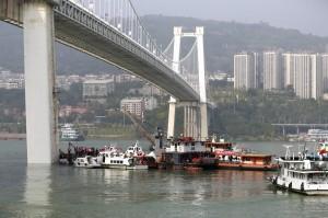 重慶墜江公車已定位 水深71公尺打撈難度高
