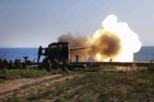 海岸砲陣地過去瞄準南韓島嶼  南韓軍方:北韓開始關閉砲台