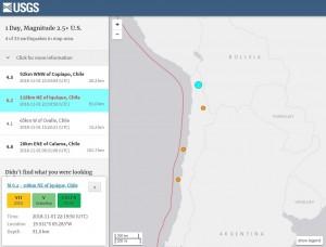 智利發生規模6.2強震 後續遭2餘震襲擊