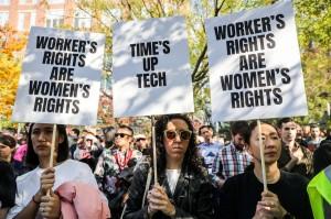 谷歌數千員工翹班示威!抗議公司包庇高層性騷