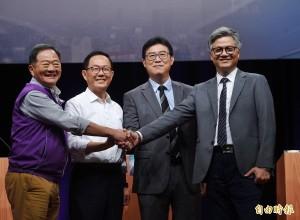 北市長選舉電視辯論》吳蕚洋:研發不跌倒機車扭轉經濟