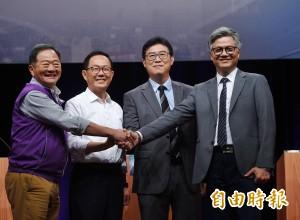 北市長選舉電視辯論》李錫錕:選非常領袖 丁守中:當都更市長