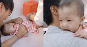 打預防針氣噗噗! 6個月大女嬰飆出超清晰「3字經」