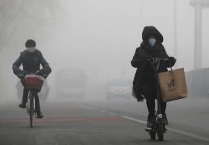 中國霧霾襲韓!南韓遭有毒空污籠罩