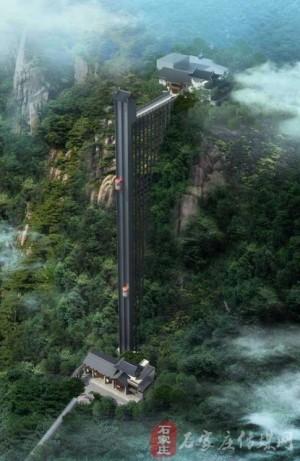 重慶220公尺「懸崖電梯」落成  廣邀「蜘蛛俠」徒手攀梯