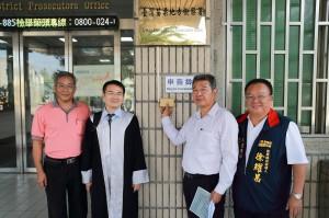 被控送禮賄選 南庄鄉農會總幹事陳乾安反告徐定禎加重誹謗