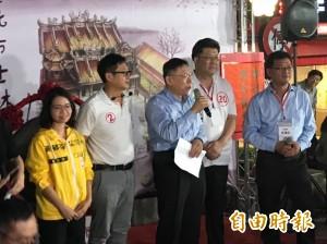 綠營台北市議員公然挺柯P 高喊:挺敢公開透明的市長