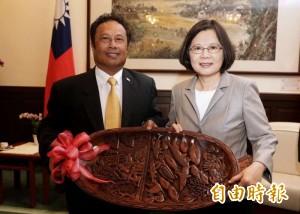 帛琉總統率團訪台 國是訪問至14日