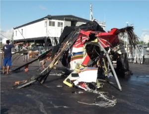 黑鷹墜海前遇亂流  疑操作不當釀6死悲劇