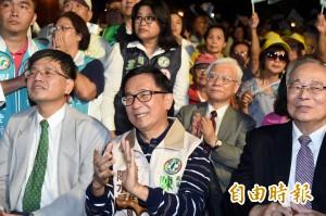 陳水扁出席「三鳳宮」音樂晚會 中監准了但籲守四不