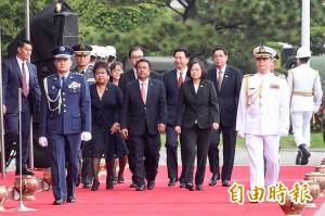 台帛元首晤談 帛琉總統:兩國情同手足