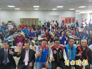 衝刺台南市長選情 高思博端「七星級」顧問名單