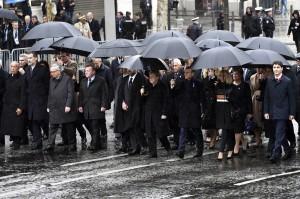 全球領袖齊聚巴黎紀念終戰百年   唯習近平缺席