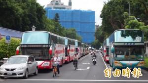 遊覽車業抗議喊卡 公會:感受到交通部誠意
