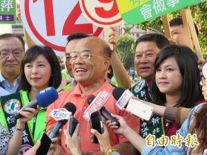 姚文智怨中央不關愛 蘇貞昌:僧多粥少、黨中央為難