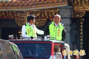 侯友宜爆被冒名騷擾選民 蘇貞昌:典型造謠、拿出證據
