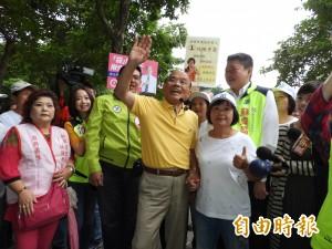 詹雅雯22日將站台獻唱 蘇貞昌籲民眾到場加油打氣