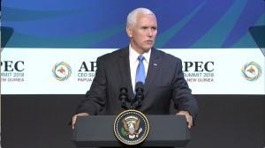 力抗中國太平洋大灑幣   彭斯APEC演講嗆習:美國提供更好選項