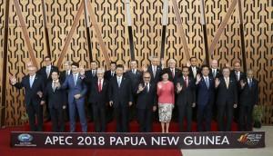 APEC峰會登場 張忠謀與各國領袖互動