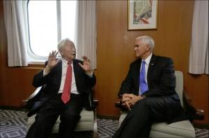 沒有彭習會!張忠謀與彭斯APEC雙邊會談 提及台美FTA