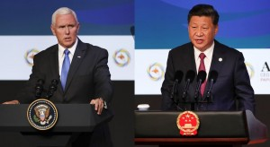 演說VS讀稿!APEC較勁 美副總統彭斯公認完勝習近平