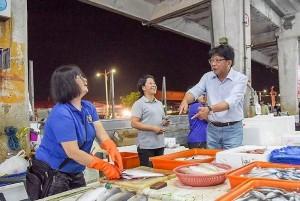 選前之夜 潘孟安邀支持者徒步遊行