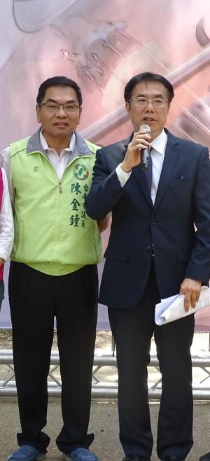 賭很大?陳金鐘:黃偉哲若有貪污就辭市議員