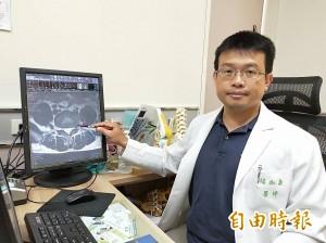 醫病》椎間盤突出 內視鏡夾出7.5公分組織