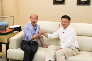 人人都是台灣大富翁 韓國瑜、高思博合體發宏願