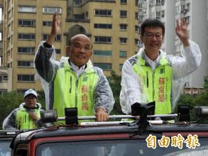 香港媒體關心新北選情 蘇貞昌:台灣有這一票不簡單