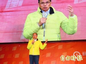 游錫堃助講蘇貞昌 籲選民穩固綠中央執政守護台灣