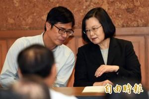 韓國瑜提九二共識  蔡總統:兩岸政策屬中央權限