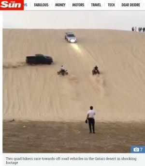 參賽時不照賽道騎   男騎士被12歲男童開車撞死