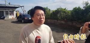 中生代接班? 代理民進黨主席林右昌幽默說5個字