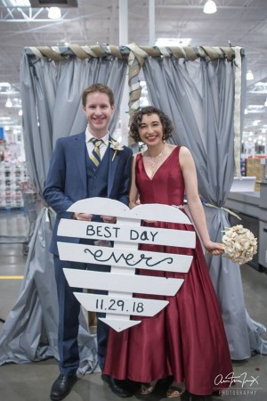 好市多不再只是大賣場!新婚夫妻在這裡甜蜜完婚