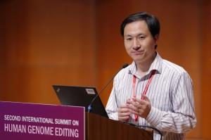 中國基因編輯寶寶實驗案 被爆美國教授團介入主導