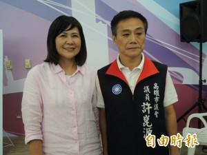 國民黨團假投票 許崑源、陸淑美競逐高雄市議會正副議長