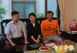 盧秀燕拜訪市農會理事長 談小內閣:很快公布