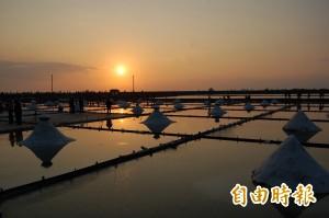 台南跨年首部曲 「鹽定井仔腳」送夕陽