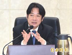 賴揆:因應中國威脅全民加強心防