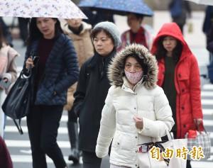 入冬最強冷空氣報到 週六前低溫下探14度